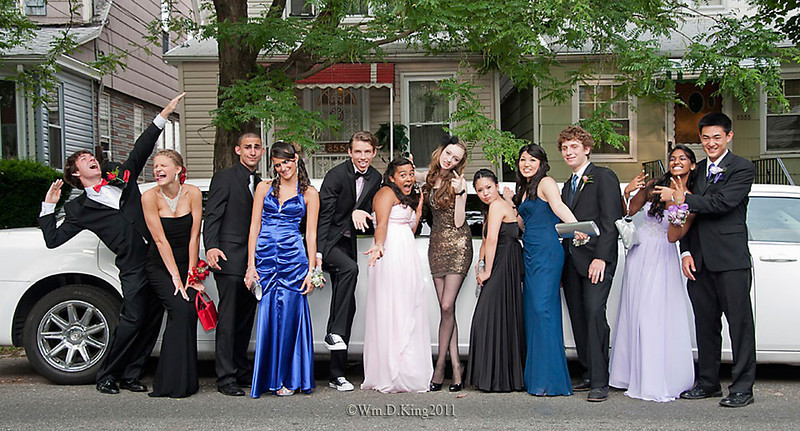 """Prom Night"", LaGuardia High School gifted honor Graduates."