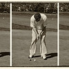 """The Perfect Putt"", by Hunter, Marine Park Golf Course's Golf Pro in Marine Park, Brooklyn."