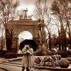 """Lovers"", photographed at Grand Army Plaza, Brooklyn, NY."