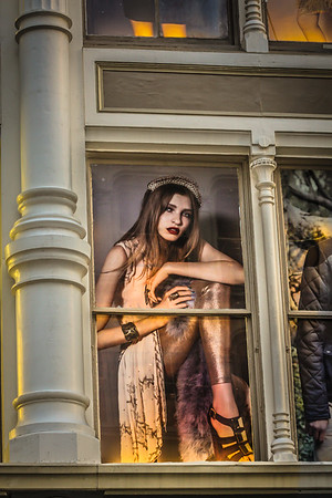 Lady in Window
