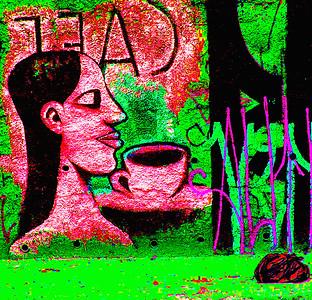 Coffee Grafitti