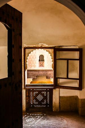 Madrassa school for girls in Marrakesh, Morocco
