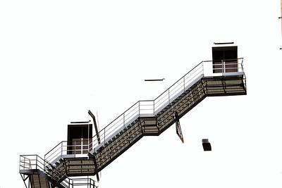 Title: Stairwell Location: Miami, Florida