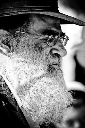 Man with beard - Jerusalem, Israel
