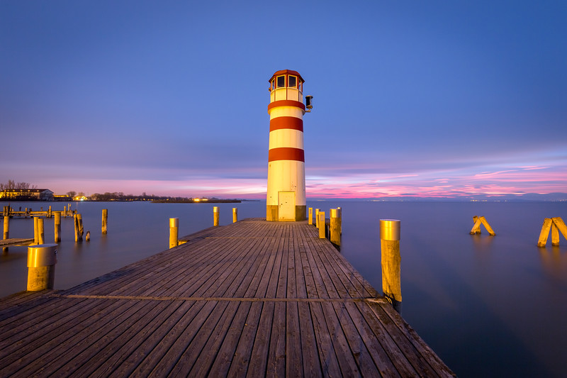 Lighthouse at Neusiedler See, Austria