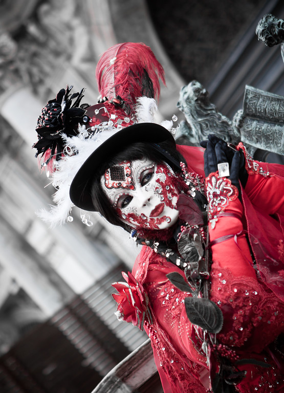 Masquerade in Red