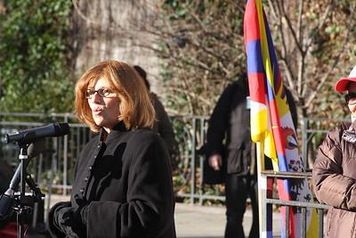 International Campaign for Tibet President Marybeth Markey. Photo Credit: Ben Kostrzewa.