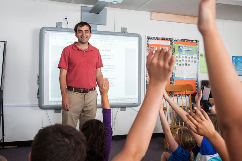Jeremy Farrara teaches VISTA