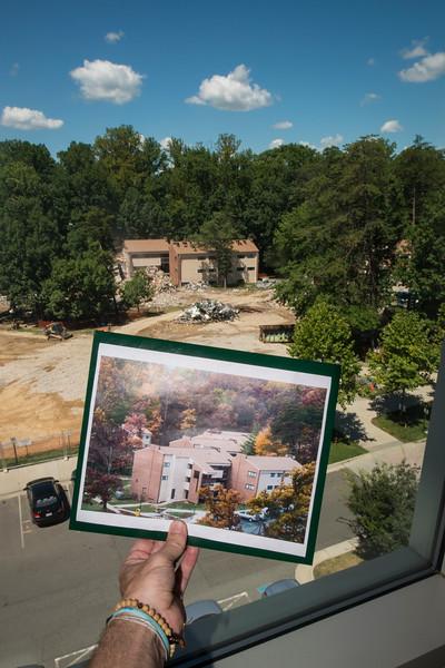 Student Apartments de-Construction