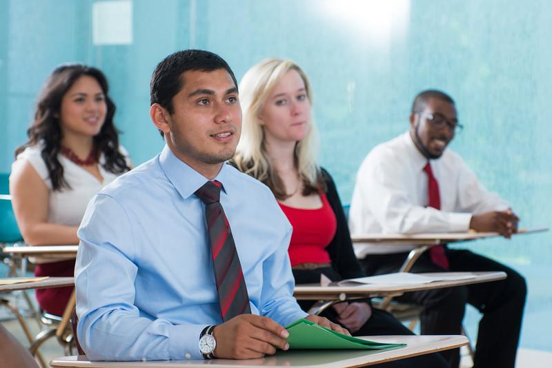 Admissions classroom