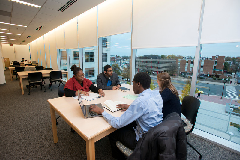 Graduate students at the Arlington campus