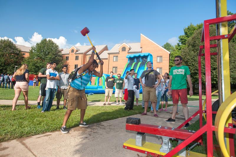 Residential Neighborhood block party