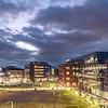 Fairfax Campus at night