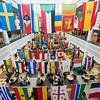Johnson Center International Week Flags