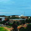 Aerial/panoramic view of the Fairfax Campus. Photo by Evan Cantwell/Creative Services/George Mason University.