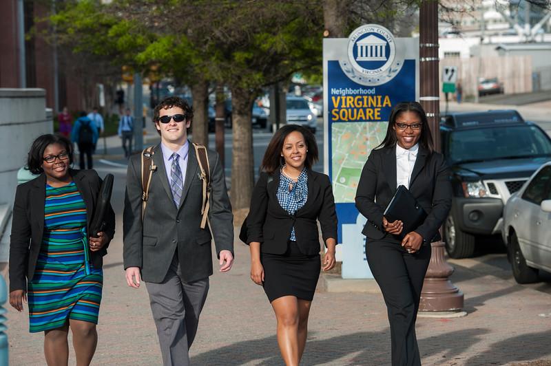 Graduate Students in Arlington