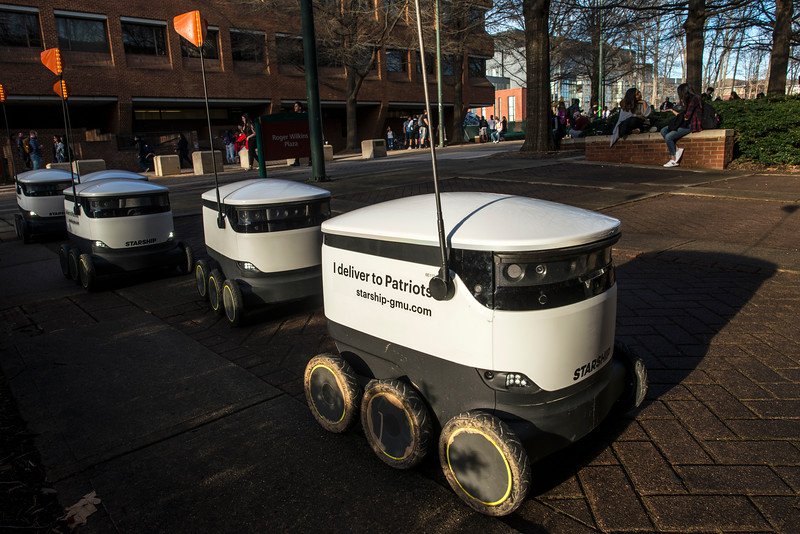 Starship Devlivery Robots
