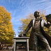 George Mason Statue.  Photo by:  Ron Aira/Creative Services/George Mason University