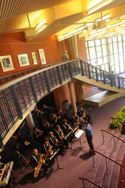 Hylton Performing Arts Center Building dedication