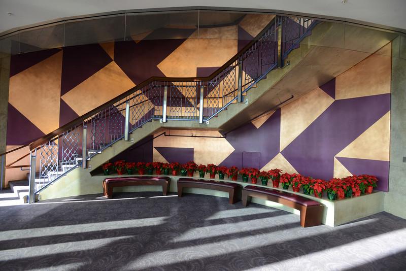 Hylton Performing Arts Center lobby