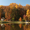 Mason pond in Fall