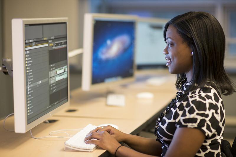 Film & Video Studies student