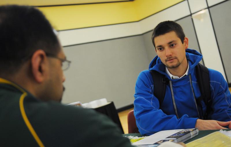 Academic Advising Expo. Photo by Creative Services/George Mason University