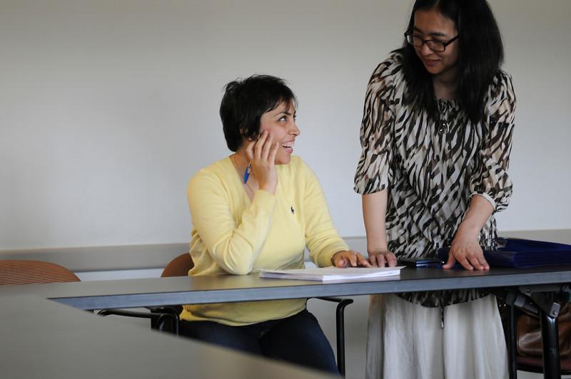 English Language Institute workshop.