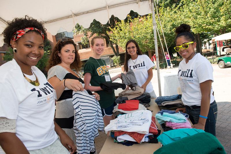 Clothing Drive for 9/11 Service Day