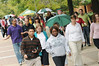 Happy Heart Walk participants.  Photo by Evan Cantwell/Creative Services/George Mason University