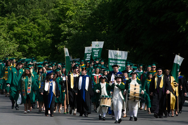 2014 Spring Commencement. Photo by Craig Bisacre/Creative Services/George Mason University