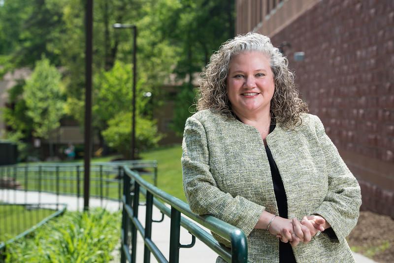 Jennifer Hammat is the new Title IX coordinator.  Photo by:  Ron Aira/Creative Services/George Mason University