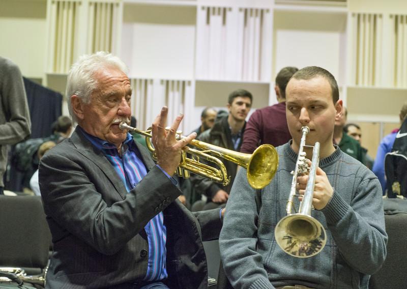 Jazz trumpeter Doc Severinsen