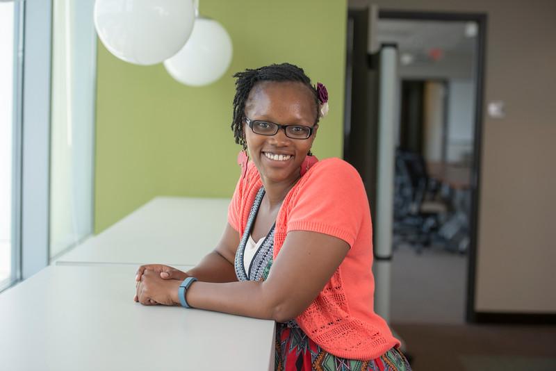 School for Conflict Analysis and Resolution PhD student Claudine Kuradusenge