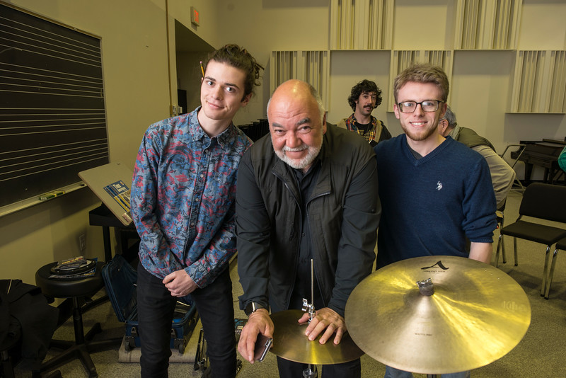 Grammy-Winning drummer Peter Erskine Clinic