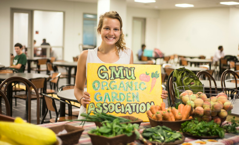 Fruits and vegetables from the Potomac Heights Vegetable Garden