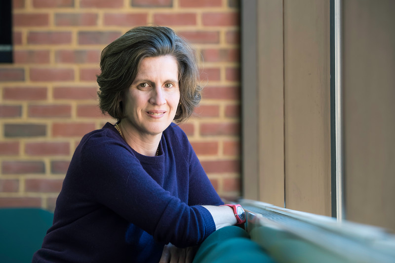 George Mason University English professor and poet Sally Keith has landed the prestigious John Simon Guggenheim Memorial Foundation Fellowship.  Photo by:  Ron Aira/Creative Services/George Mason University