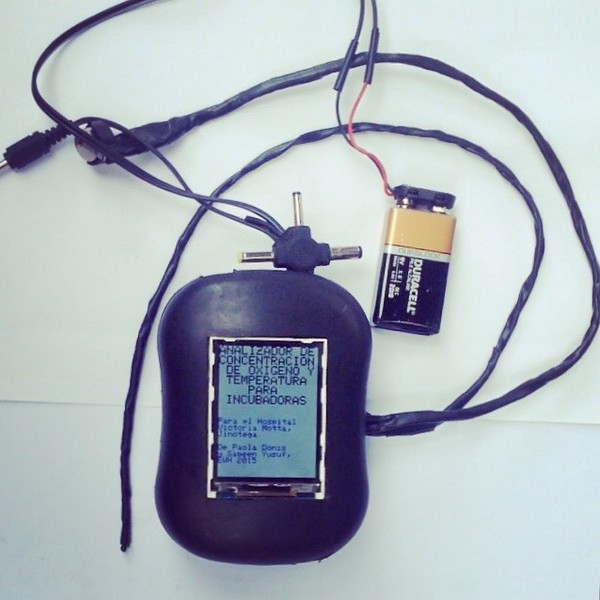 The prototype I left with Technigians in Nicaragua. Provided by Sameen Yusuf