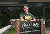 Student Alex Interlandi at Wolf Trap internship