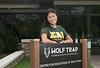 Student Alex Interlandi at Wolf Trap internship
