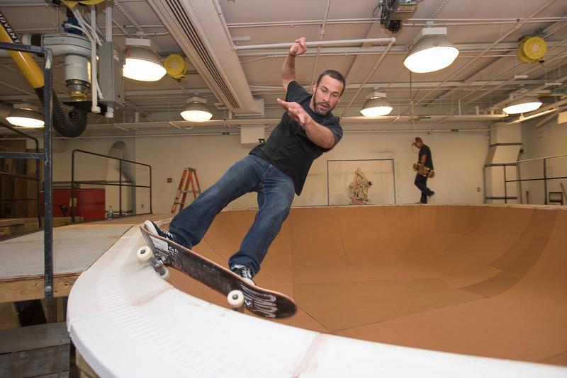 """Ben Ashworth skate bowl """"Finding a Line"""""""