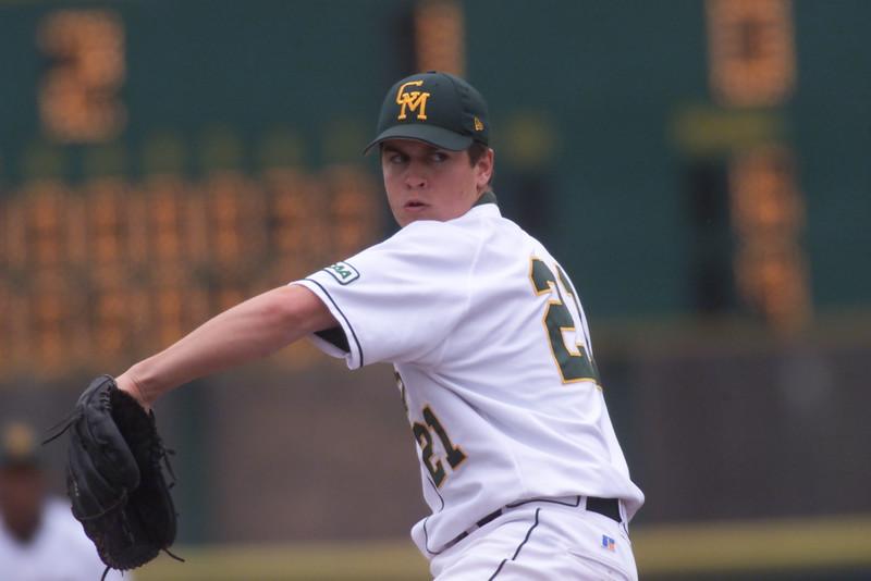 Joshua Morrison played baseball for Mason from 2002-05. Photo by Athletics