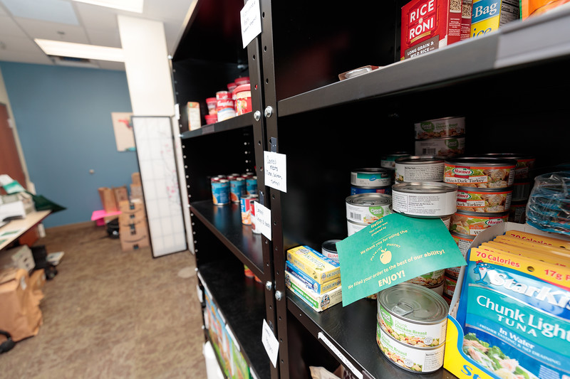 Patriot Pantry. Photo By Ian Shiff/Creative Services/George Mason University