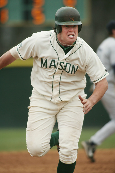 Justin Bour from 2007-2008.  Photo by John Aronson/Athletics