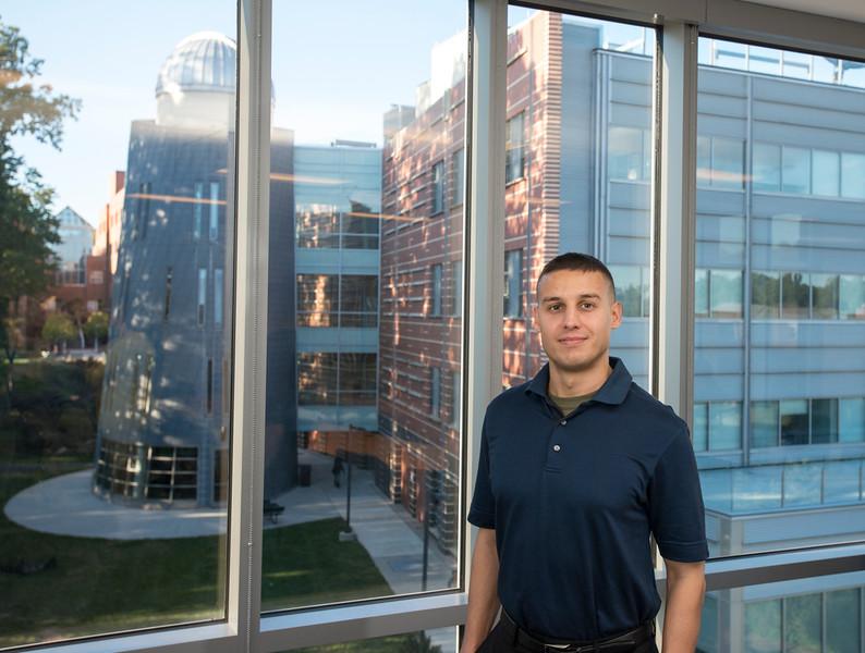 Scholarship awardee Danny Munoz