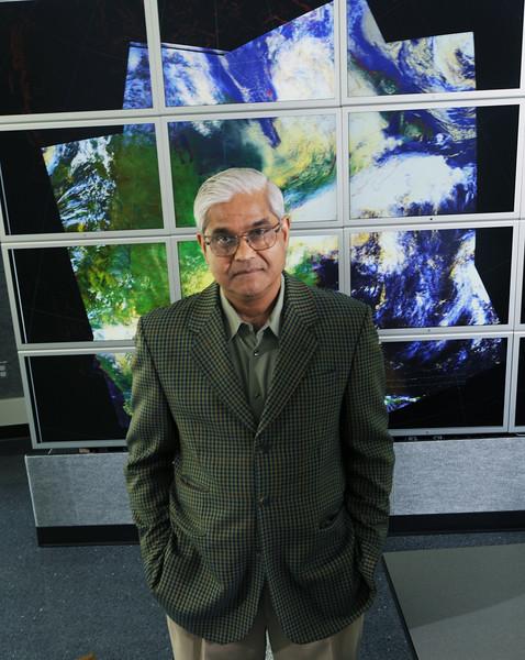 Jagadish Shukla, Professor, Atmospheric Oceanic Earth Sciences, COS