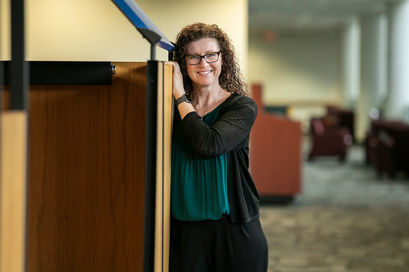 Shannon Davis, Prof, SOCI / Dir, Grad Studies; Interim Sr Assoc Dean CHSS, Sociology and Anthropology.   Photo by:  Ron Aira/Creative Services/George Mason University