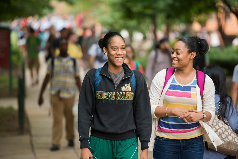 Students at Fairfax Campus