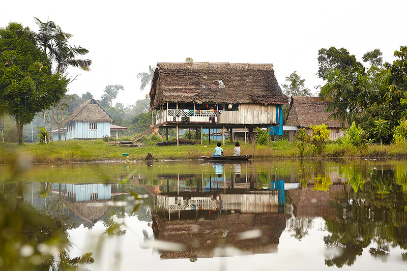 Peruvian Amazon. Photo by Will Martinez, '14 School of Business
