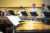 School of Music percussion students